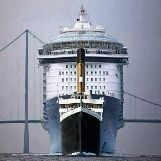 Comparing the Size of Titanic with a Modern Cruise Ship