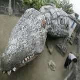 Crocodile House in Abidjan, Ivory Coast