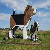 Dog Bark Park Inn in Idaho, USA
