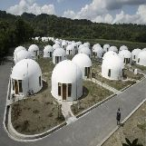 Dome Houses in Indonesia