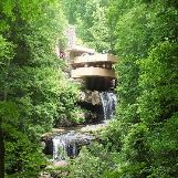 Fallingwater House in Pennsylvania, USA