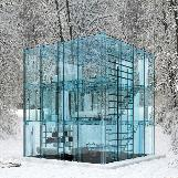 Glass House in Milano, Italy