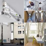 Keret House in Warsaw, Poland