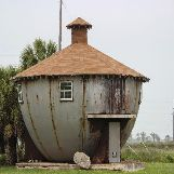 """Kettle House"" in Galveston, Texas, USA"