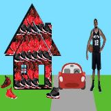 Lamarcus Aldridge House for his Shoes