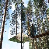 Mirrorcube Invisible Treehouse Hotels