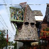 """Mushroom House"" in Cincinnati, Ohio, USA"