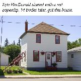 Paperclip House in Kipling, Saskatchewan, Canada