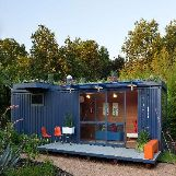 Shipping Container House in San Antonio, Texas, USA