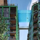 """Sky Pool"" Embassy Gardens in London, England"