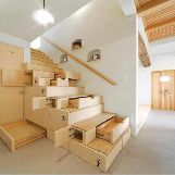 Stairs with built-in Drawers