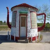 """Teapot Dome"" House in Zilla, Washington State, USA"