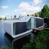 Water House in Amsterdam, Netherlands