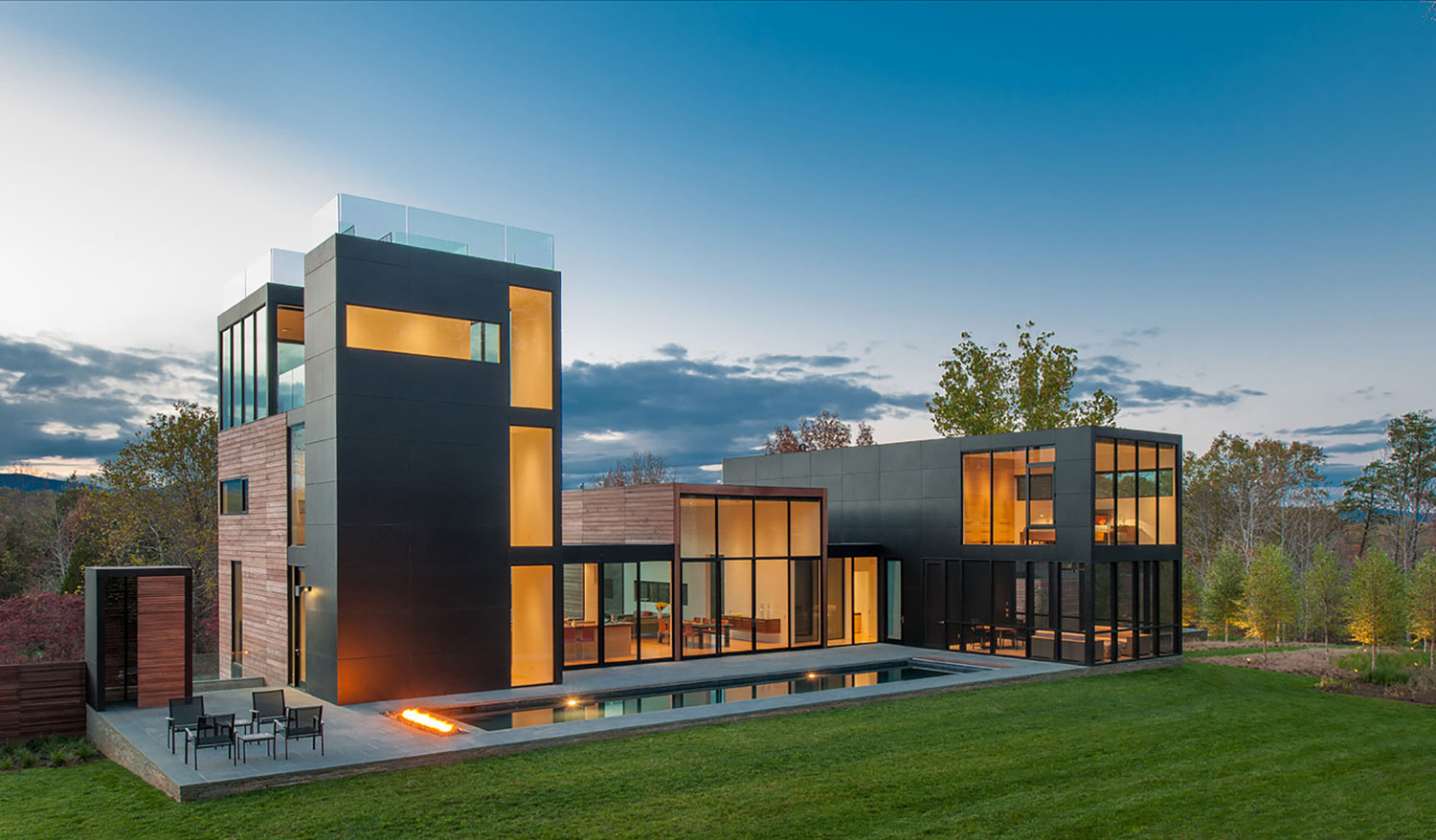 Amazing modern house in rappahannock county virginia usa for Amazing modern houses