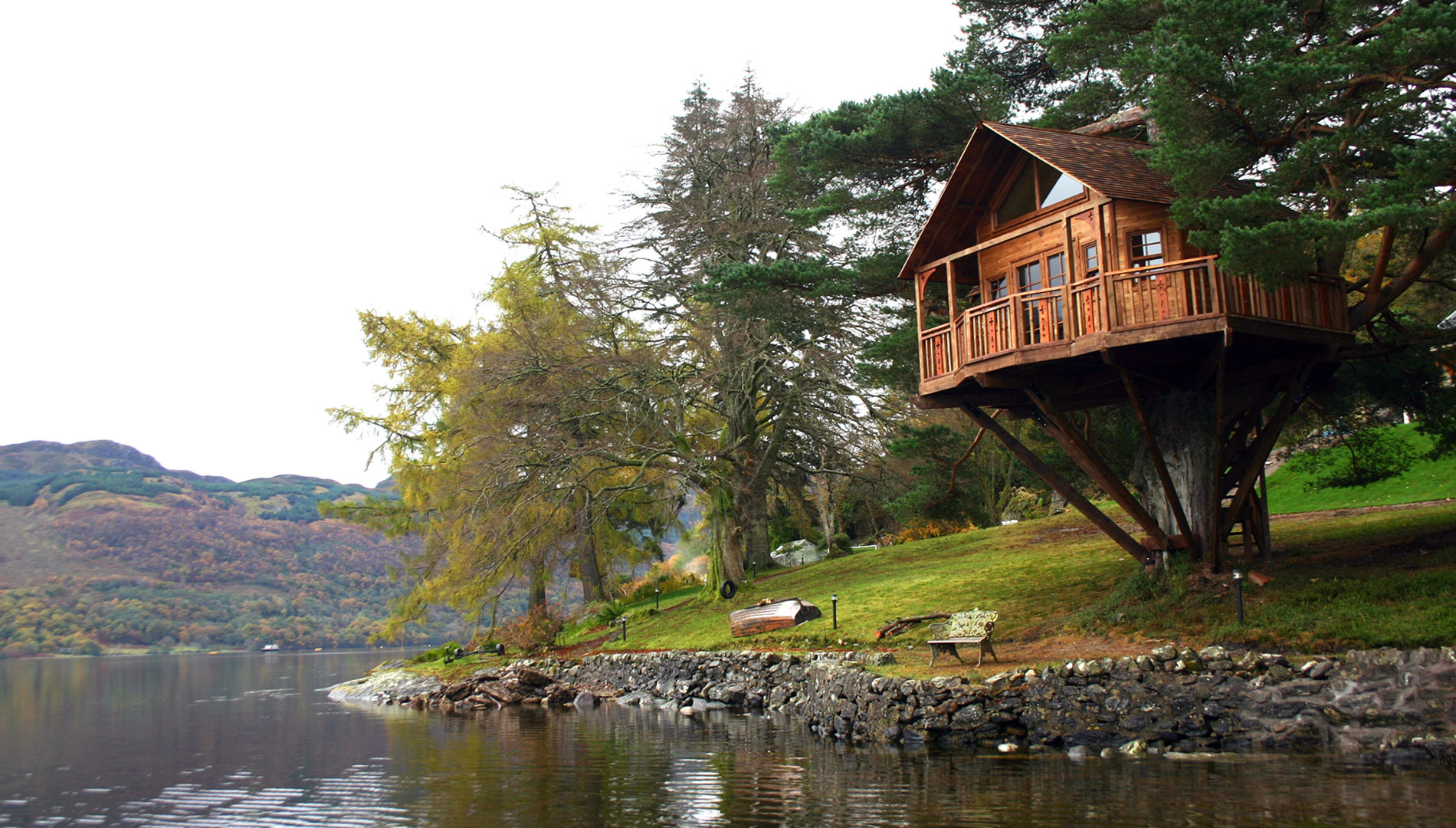 Tree House amazing tree house with lake view | dream homes | mortgage calculator