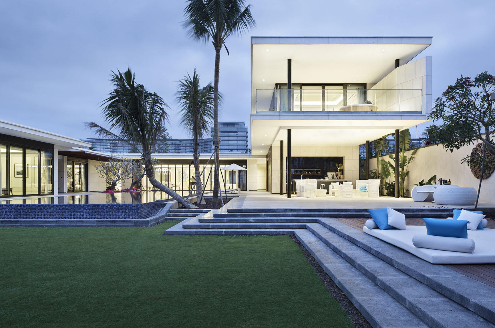 Amazing Villa Complex in Hainan, China
