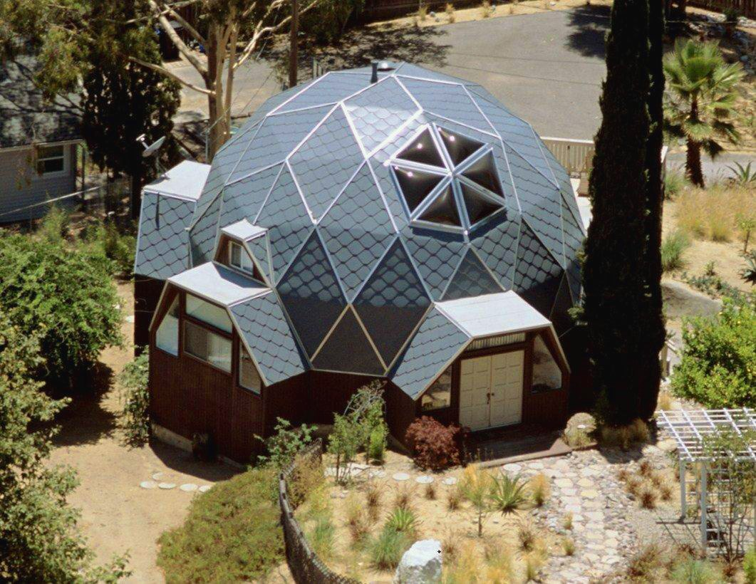 cool dome shaped house