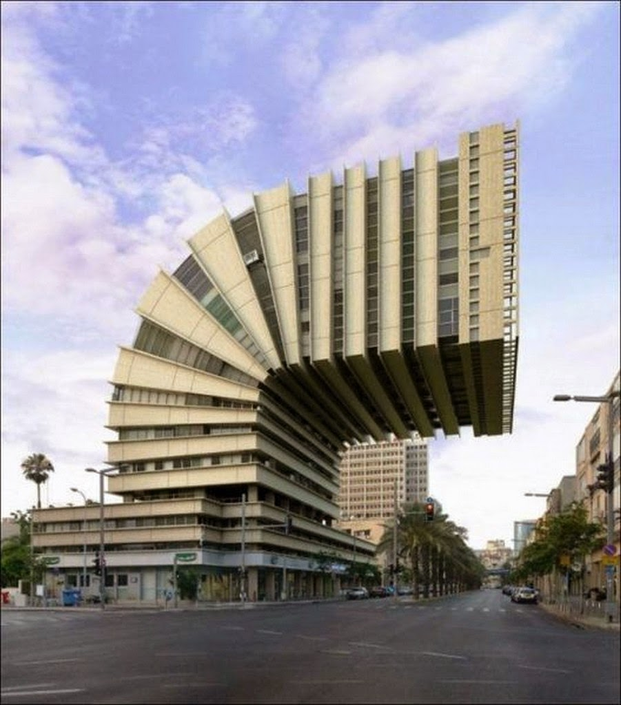 crazy curved building