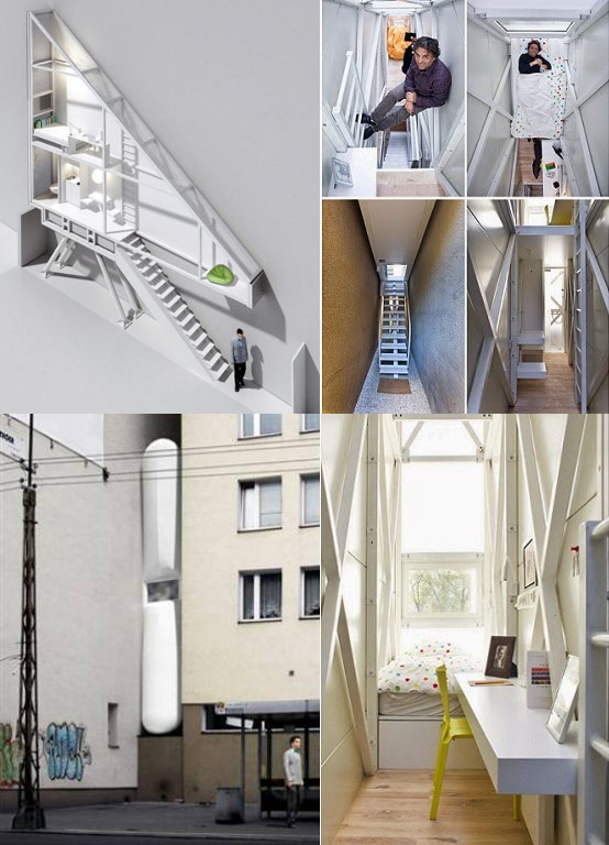 keret house in warsaw  poland