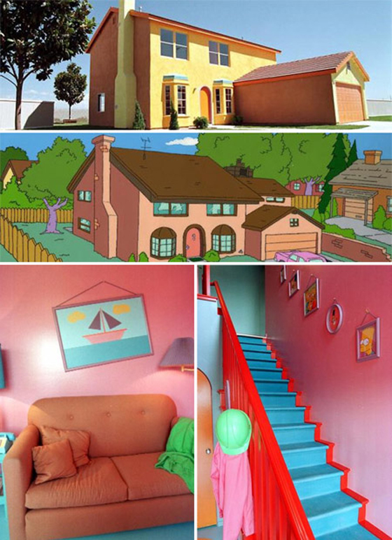 Real Life Simpson's House