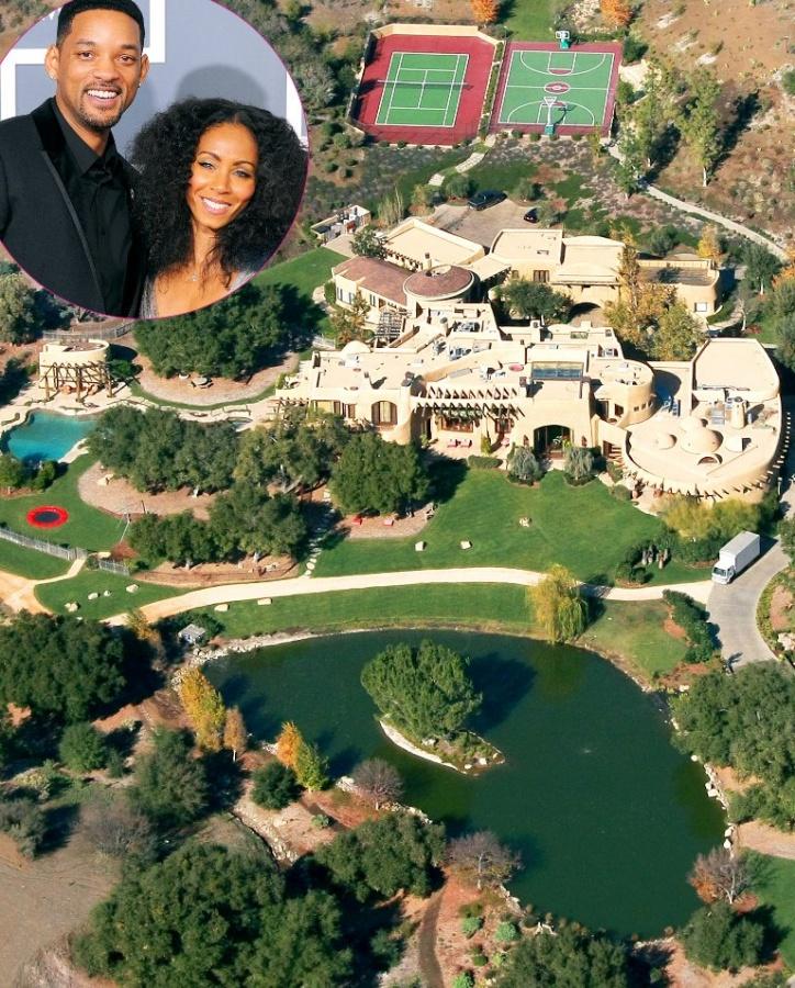 will smith u0026 39 s massive mansion